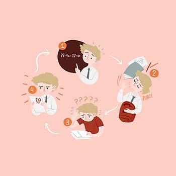 Imagen tomada de http://www.accionmatematica.cl/even- tos/seminario-abordando-la-ansiedad-matematica/