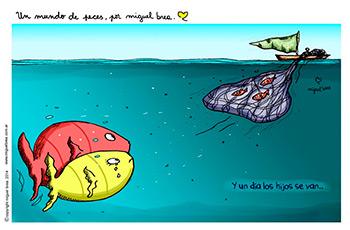 Sobrepesca, por Miguel Brea, en www.flickr.com