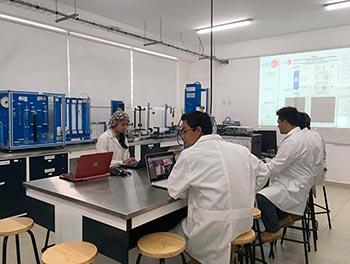 Laboratorio de Mecánica de Fluidos y Transferencia de Calor. Responsable: doctora Laura Paniagua