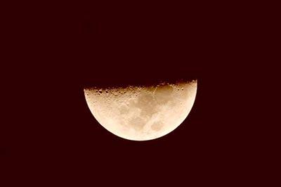 Así veremos la Luna durante la Noche de las Estrellas del 2017