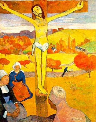 El Cristo Amarillo, de Paul Gauguin