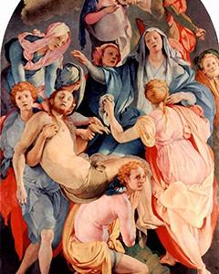 El Descenso de la Cruz, de Jacopo Pontormo