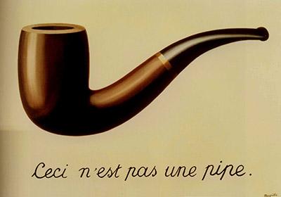 Esto no es una pipa, de René Magritte