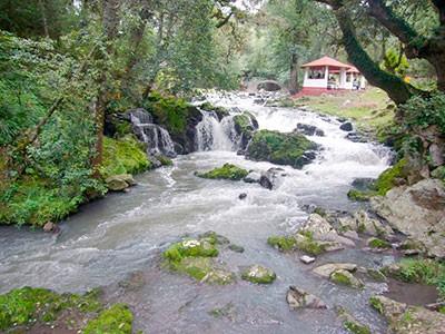 · Río Quetzalapan, imagen tomada de: http://e-culturismo.com/2017/06/22/zacatlan-las-cascadas-quetzalapan/