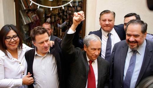 PAN, Movimiento Ciudadano y PRD ungen a Enrique Cárdenas como candidato en la elección extraordinaria de gobernador de Puebla. Foto: esimagen / Jafet Moz