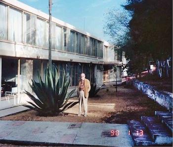 Único edificio del INAOE en la década de los 70