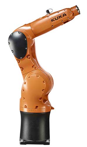 Robot KR AGILUS de KUKA Robotics, imagen tomada de http://mms.businesswire.com/media/20150320005019/en/458295/5/KR_Agilus_R_7 00_sixx__rechts_29298f2.jpg