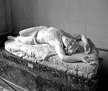 Abel, escultura de Giovanni Duprè