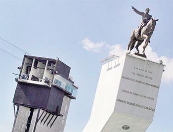 Imagen tomada de http://oronoticias.mx/nota/162501/Inaugurara- Moreno-Valle-el-Teleferico-y-el-mural-mas-grande-del-mundo. Foto: Agencia Enfoque