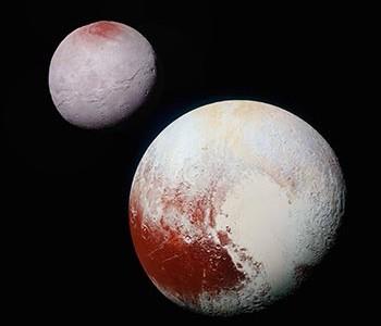 Plutón y Caronte. Imagen tomada de http://www.nasa.gov/sites/default/files/thumbnails/image/nh-pluto-charon-v2-10-1-15.jpg