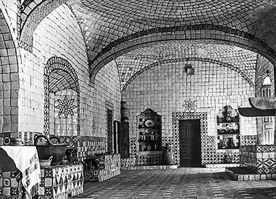 Cocina de Santa Mónica, autor desconocido. Archivo de Sergio Javier González.