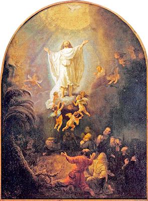 The Ascension of Christ de Rembrandt Harmensz van Rijn