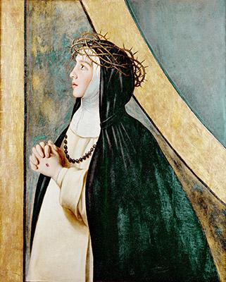 Santa Catalina de Siena, de Fray Juan Bautista Maíno