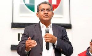 Alberto Jiménez Merino fue presentado como candidato del PRI al gobierno del estado para las elecciones de este 2019. Foto: esimagen / Daniel Casas